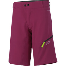 IXS Carve Shorts Women Aubergine